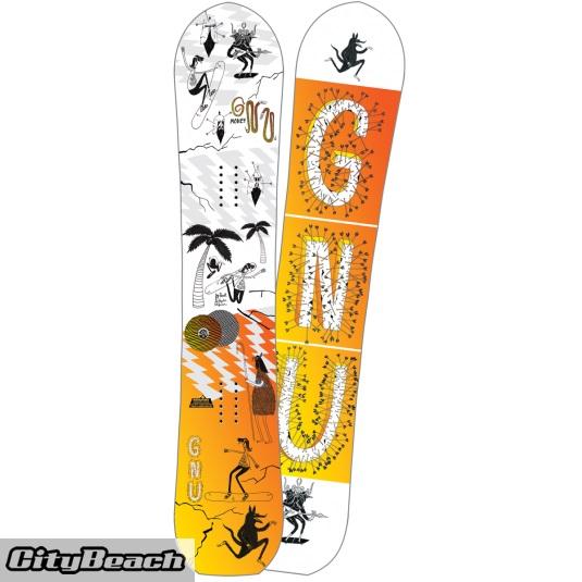 Tavola snowboard uomo Money c2e GNU